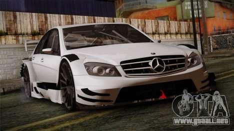 Mercedes-Benz C-Coupe AMG DTM para GTA San Andreas