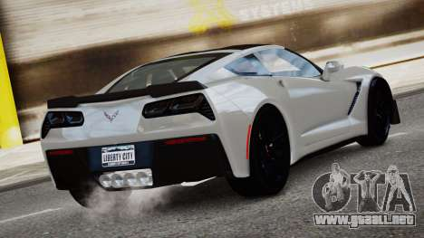Chevrolet Corvette Z06 2015 para GTA 4 left