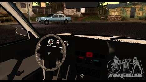 Tofas Dogan 90 Model para GTA San Andreas vista posterior izquierda
