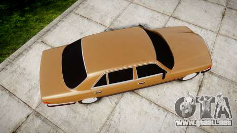 Mercedes-Benz 560SEL W126 para GTA 4 visión correcta
