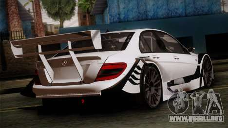 Mercedes-Benz C-Coupe AMG DTM para GTA San Andreas left