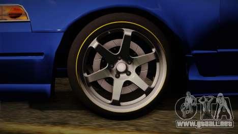 Nissan Cefiro A31 Stock para GTA San Andreas vista posterior izquierda