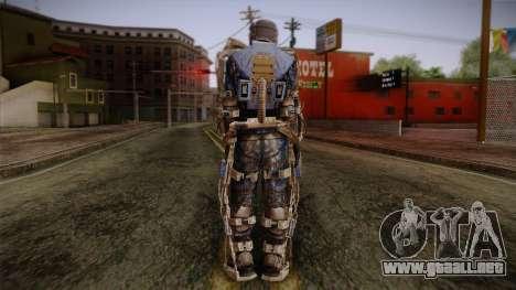 Mercenaries Exoskeleton para GTA San Andreas segunda pantalla