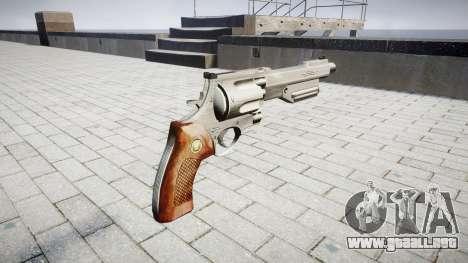 Revolver HandCannon para GTA 4 segundos de pantalla