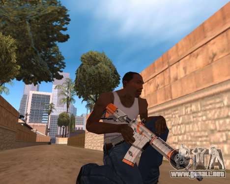 CS:GO Weapon pack Asiimov para GTA San Andreas tercera pantalla