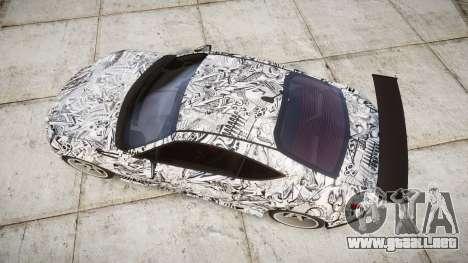 Subaru BRZ 2011 Sharpie para GTA 4 visión correcta