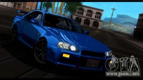 Forza Plata ENB por medio de la PC para GTA San Andreas quinta pantalla