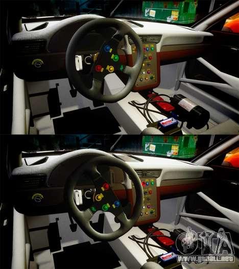 RUF RGT-8 GT3 [RIV] Der Kuhler para GTA 4 vista superior