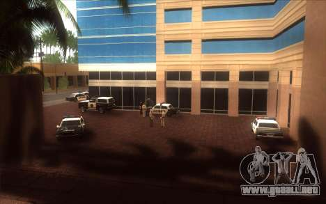 El renacimiento de la LVPD para GTA San Andreas sexta pantalla