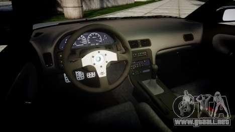 Nissan 240SX SE S13 1993 Sharpie para GTA 4 vista lateral