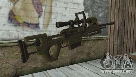 Piers Nivans Rifle from Resident Evil 6 para GTA San Andreas segunda pantalla