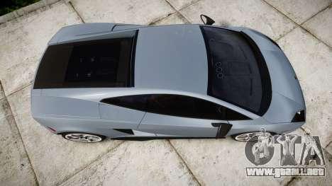 Lamborghini Gallardo LP570-4 Superleggera 2011 para GTA 4 visión correcta