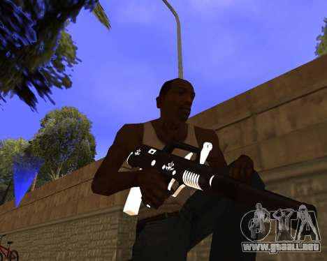 Hitman Weapon Pack v2 para GTA San Andreas segunda pantalla