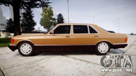 Mercedes-Benz 560SEL W126 para GTA 4 left