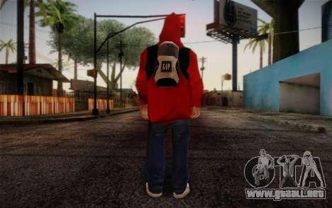 Ginos Ped 6 para GTA San Andreas segunda pantalla