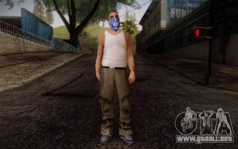 New Fam Skin 2 para GTA San Andreas