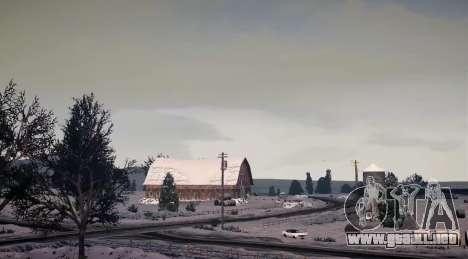 North Yankton IV para GTA 4 quinta pantalla