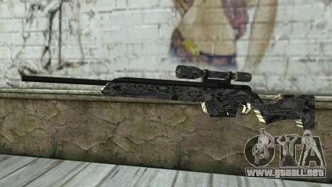 Nuevo rifle de francotirador para GTA San Andreas