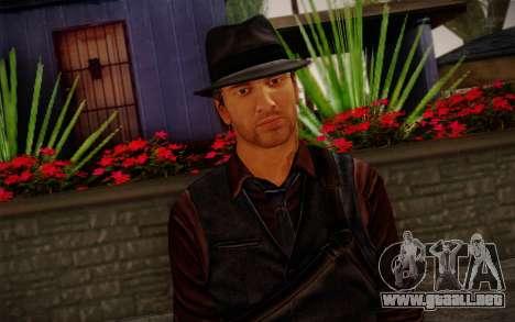 Murdered Soul Suspect Skin 2 para GTA San Andreas tercera pantalla