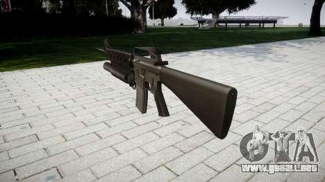 Rifle M16A2 M203 sight3 para GTA 4 segundos de pantalla