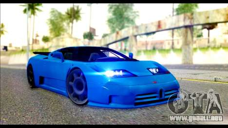 Bugatti EB110SS para GTA San Andreas