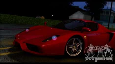 Forza Plata ENB por medio de la PC para GTA San Andreas