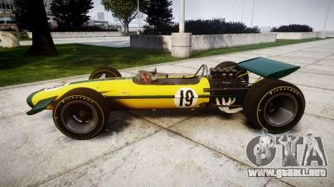 Lotus Type 49 1967 [RIV] PJ19-20 para GTA 4 left