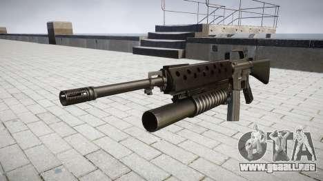 Rifle M16A2 M203 sight2 para GTA 4
