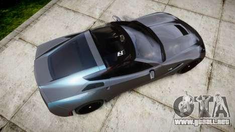 Chevrolet Corvette Stingray C7 2014 para GTA 4 visión correcta