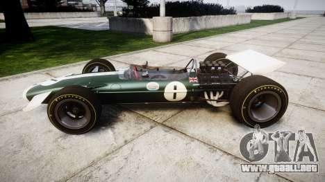 Lotus Type 49 1967 [RIV] PJ1-2 para GTA 4 left