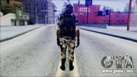 Hecu Soldier 2 from Half-Life 2 para GTA San Andreas segunda pantalla