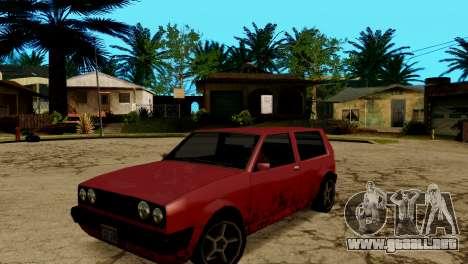 ENB para los débiles y medianas PC SA:MP para GTA San Andreas novena de pantalla