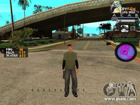 C-HUD. Con. Y. para GTA San Andreas