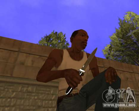 Hitman Weapon Pack v2 para GTA San Andreas tercera pantalla