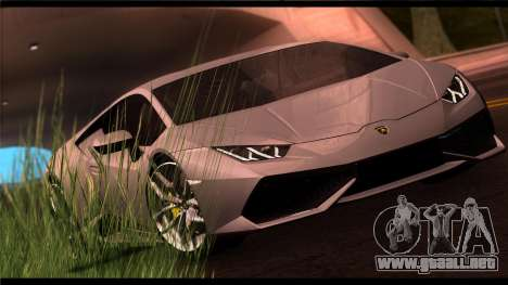 Forza Plata ENB por medio de la PC para GTA San Andreas tercera pantalla