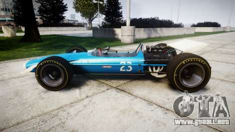 Lotus Type 49 1967 [RIV] PJ23-24 para GTA 4 left