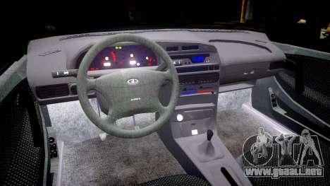 VAZ-2114 para GTA 4 vista interior