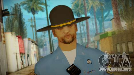 Missouri Highway Patrol Skin 2 para GTA San Andreas tercera pantalla