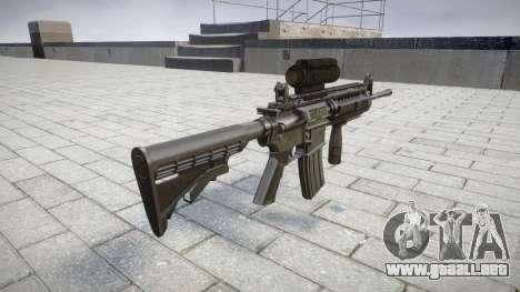 Automático de la carabina M4 Señores Táctica de  para GTA 4 segundos de pantalla