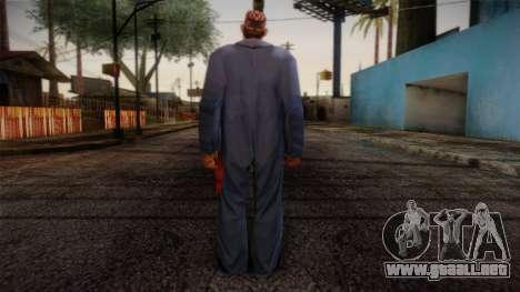 GTA San Andreas Beta Skin 19 para GTA San Andreas segunda pantalla