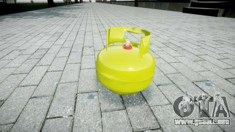 Granada-cilindro de Gas- para GTA 4