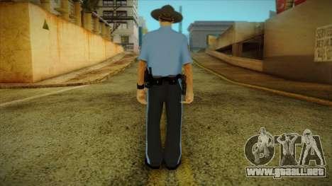 Missouri Highway Patrol Skin 2 para GTA San Andreas segunda pantalla