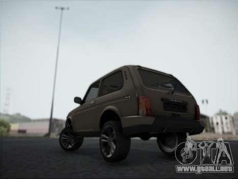 Lada Urdan para GTA San Andreas vista hacia atrás