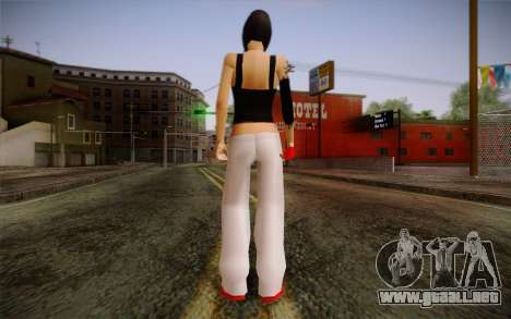 Ginos Ped 15 para GTA San Andreas segunda pantalla