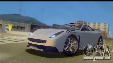 GTA 5 Dewbauchee Massacro IVF para GTA San Andreas