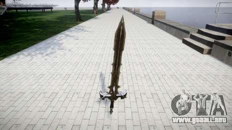 La espada, el caballero Negro- para GTA 4