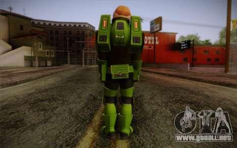 Space Ranger from GTA 5 v2 para GTA San Andreas segunda pantalla