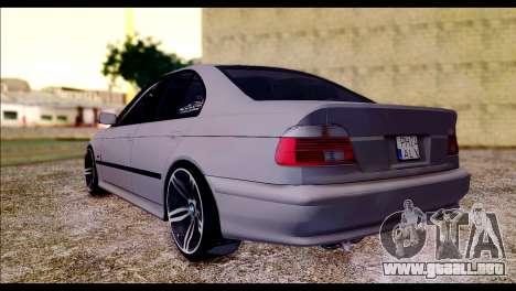 BMW 520d 2000 para GTA San Andreas left