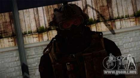 Modern Warfare 2 Skin 2 para GTA San Andreas tercera pantalla