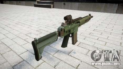 Rifle automático de destino Ak5C para GTA 4 segundos de pantalla